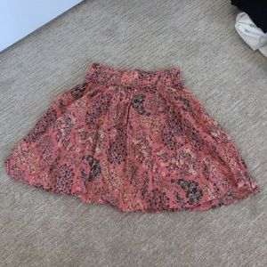 Floral print skirt from HM size small
